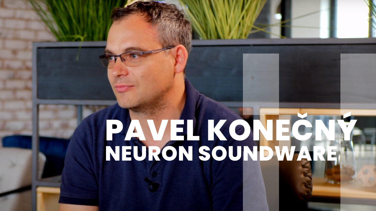 STARTUPSIGHT: Pavel Konečný (Neuron Soundware)